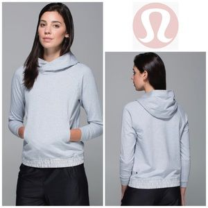 Lululemon All Good Pullover Heathered Silver